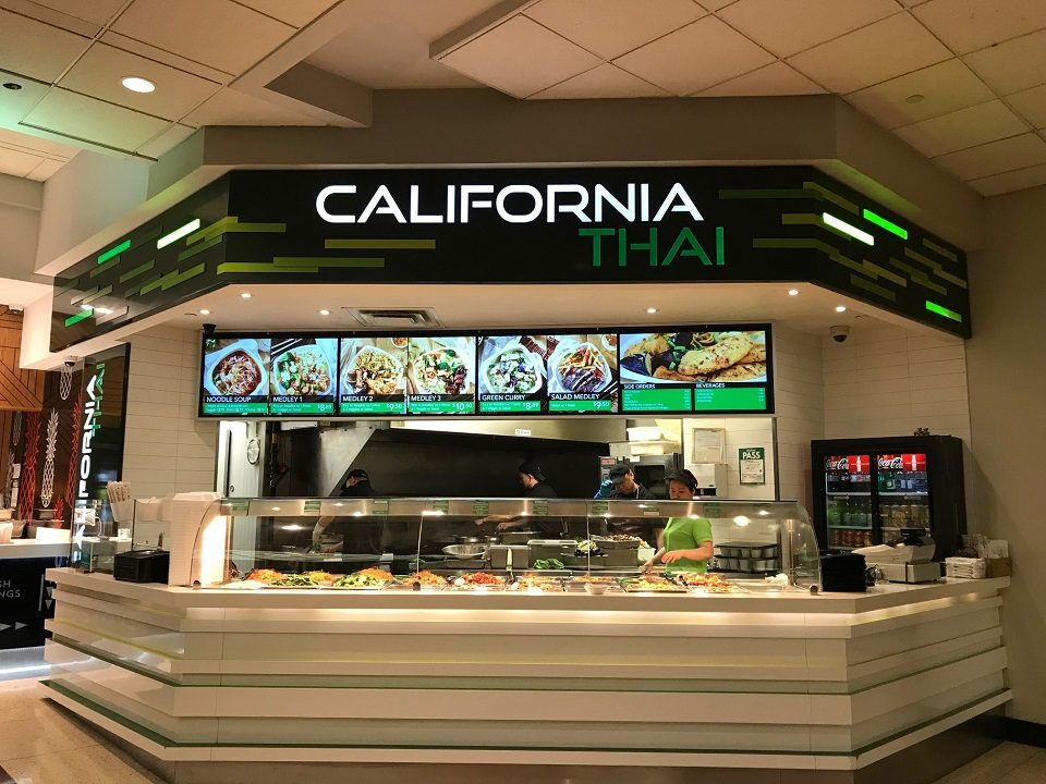 California Thai - Metro Centre - Toronto, Ontario - Digital Menu Board - Digital Menu Board - Video Wall - Digital Signage - Reliable - Affordable - Flexible