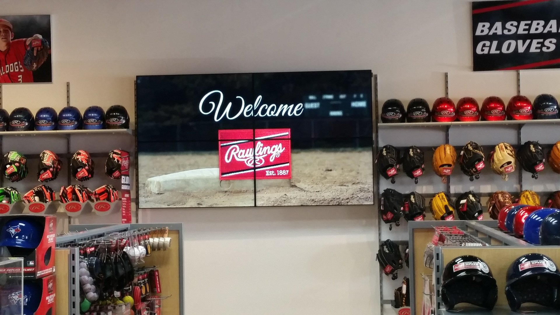 Rawlings 2x2 Videowall